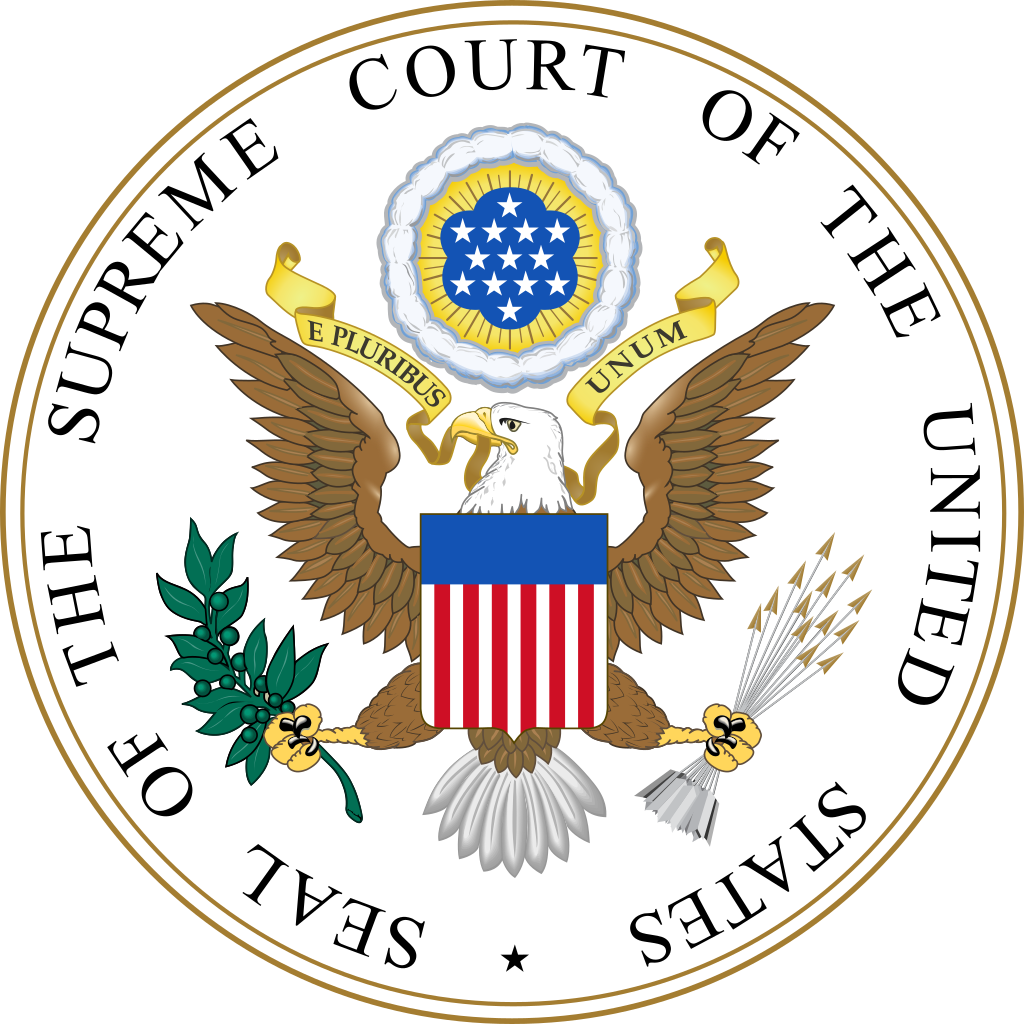 The seal of the united states supreme court
