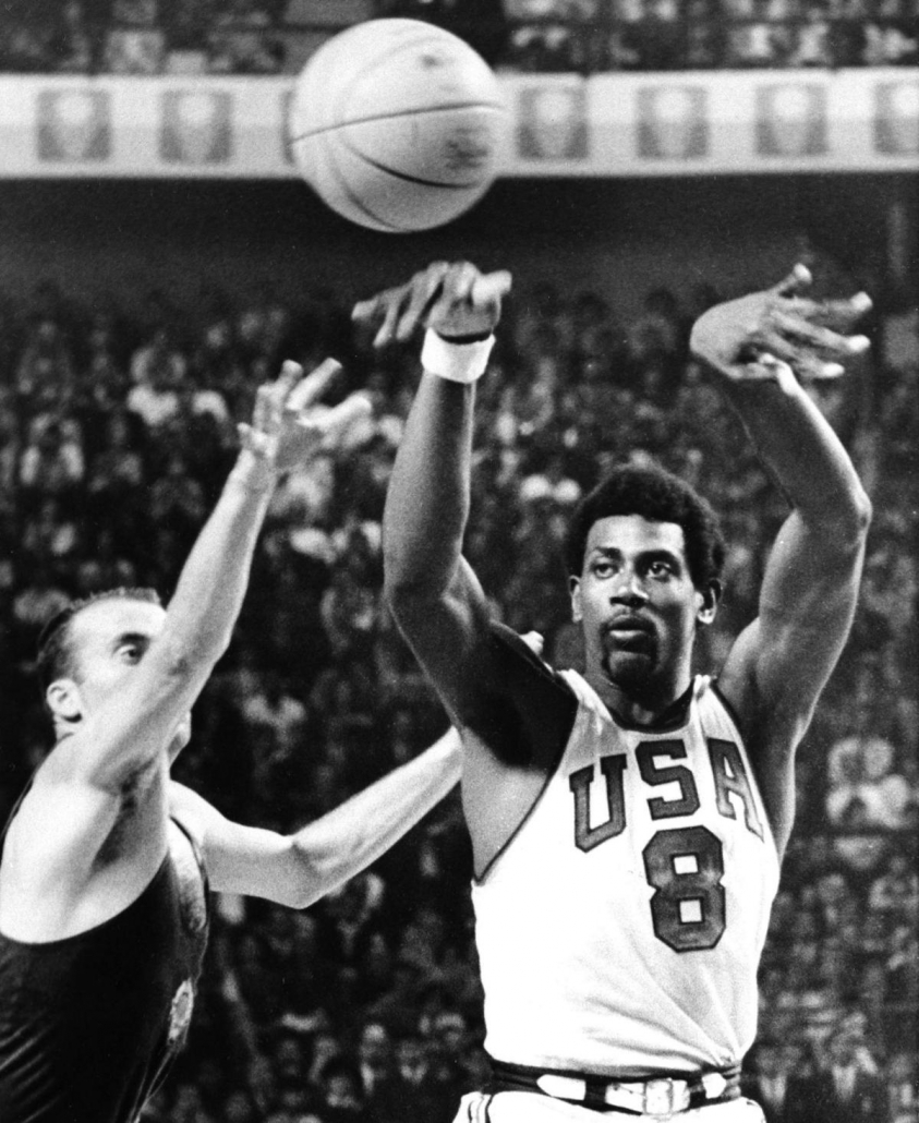Spencer Haywood at 1968 Olympic games